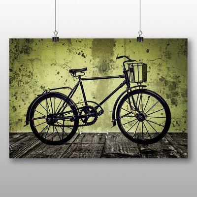 Big Box Art Vintage Bike Bicycle Graphic Art