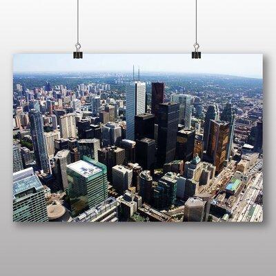 Big Box Art Toronto Skyline Canada No.2 Photographic Print