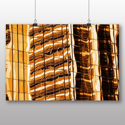 Big Box Art Sunset Reflection Photographic Print