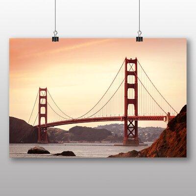 Big Box Art The Golden Gate Bridge San Francisco California No.4 Photographic Print