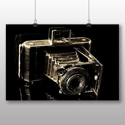 Big Box Art Vintage Retro Camera No.3 Photographic Print