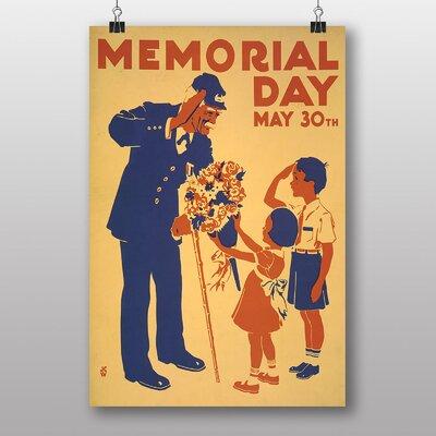Big Box Art Memorial Day Vintage Advertisement