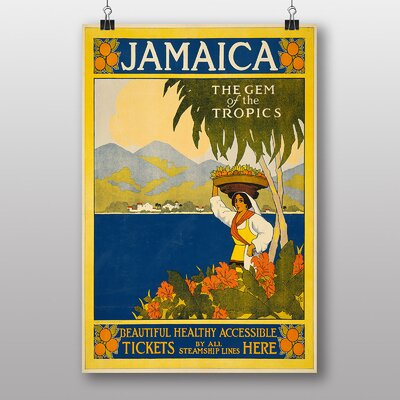 Big Box Art Jamaica Vintage Advertisement