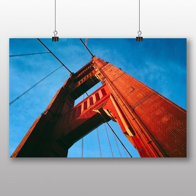 Big Box Art The Golden Gate Bridge San Francisco California No.6 Photographic Print
