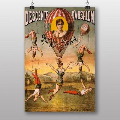 Big Box Art Circus Vintage Advertisement