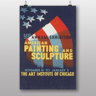 Big Box Art Institute of Chicago Vintage Advertisement