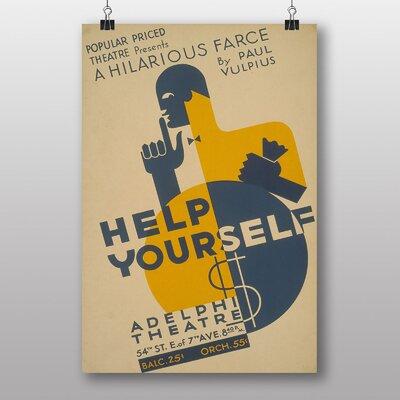 Big Box Art Help Yourself No.6 Vintage Advertisement
