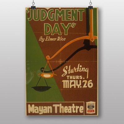 Big Box Art Judgement Day Vintage Advertisement