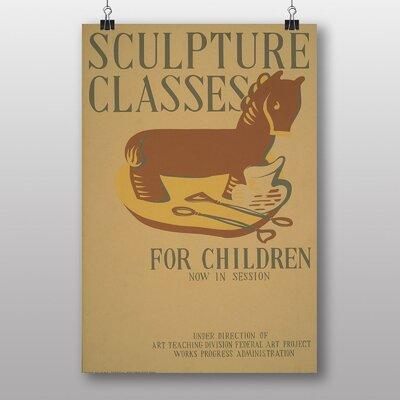 Big Box Art Sculpture No.2 Vintage Advertisement