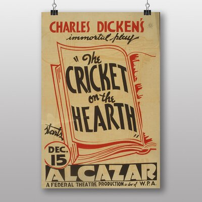 Big Box Art Cricket on The Hearth Vintage Advertisement