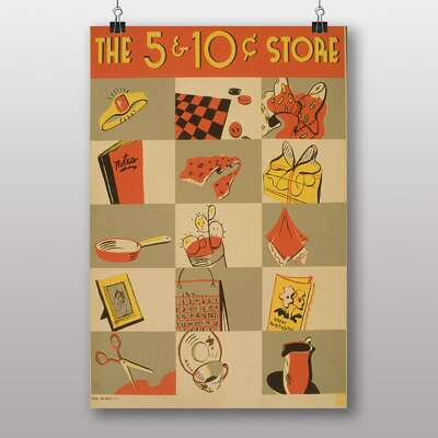 Big Box Art The 5 and 10 Cent Store Vintage Advertisement
