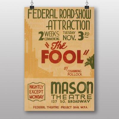 Big Box Art The Fool No.2 Vintage Advertisement
