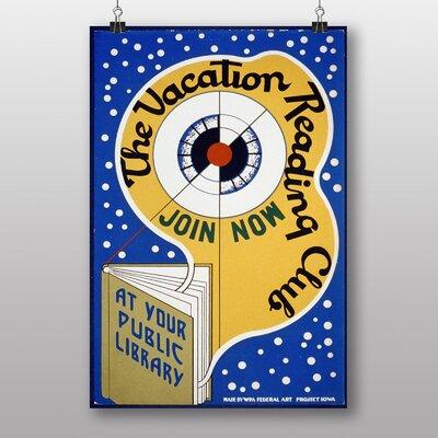 Big Box Art Vacation Reading Vintage Advertisement