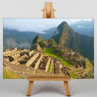Big Box Art Machu Picchu Peru No.1 Photographic Print on Canvas
