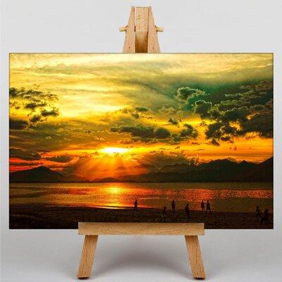 Big Box Art Sunset No.4 Photographic Print on Canvas