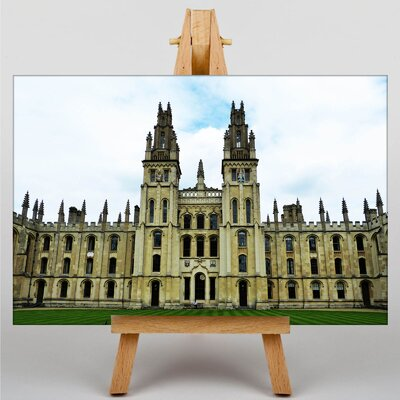 Big Box Art University of Oxford Photographic Print Wrapped on Canvas