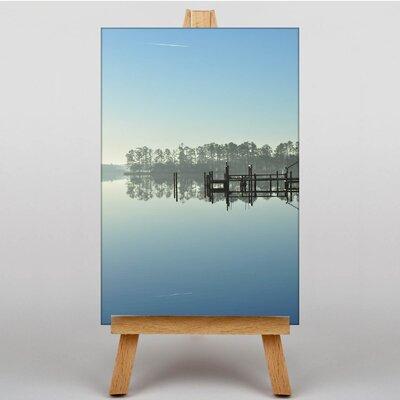 Big Box Art North Carolina Lake USA Photographic Print on Canvas