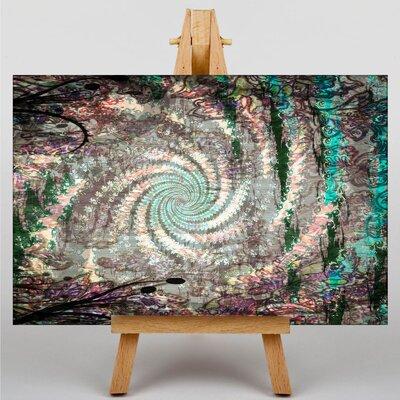 Big Box Art Fractal Abstract No.23 Graphic Art on Canvas