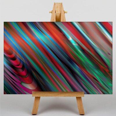 Big Box Art Abstract No.8 Graphic Art on Canvas