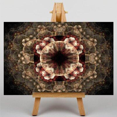 Big Box Art Fractal Abstract No.44 Graphic Art on Canvas