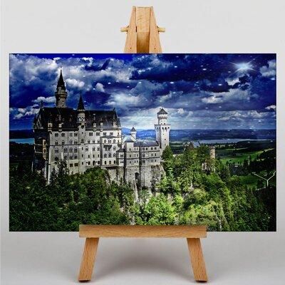 Big Box Art Neuschwanstein Bavaria No.2 Photographic Print on Canvas