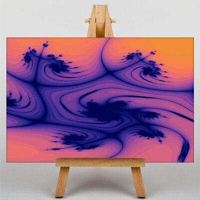 Big Box Art Abstract No.1 Graphic Art on Canvas