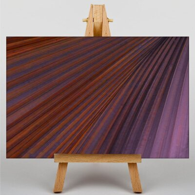 Big Box Art Purple Abstract No.4 Graphic Art on Canvas