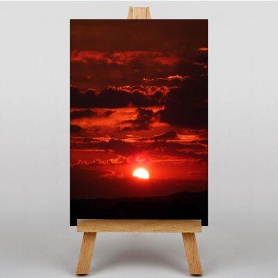 Big Box Art Sky Sunset No.1 Photographic Print on Canvas