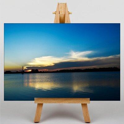 Big Box Art Sunset No.16 Photographic Print on Canvas