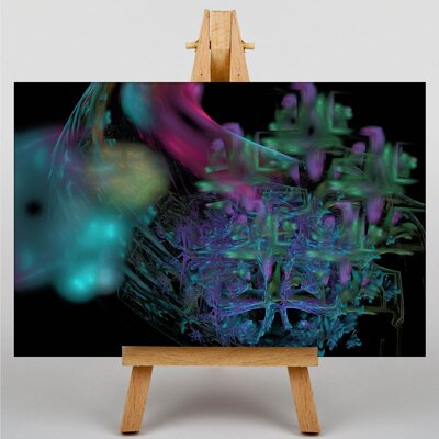 Big Box Art Fractal Abstract No.30 Graphic Art on Canvas
