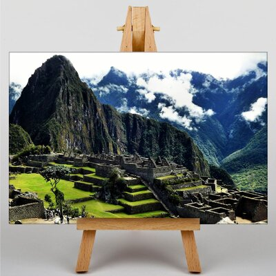 Big Box Art Machu Picchu Peru No.3 Photographic Print Wrapped on Canvas