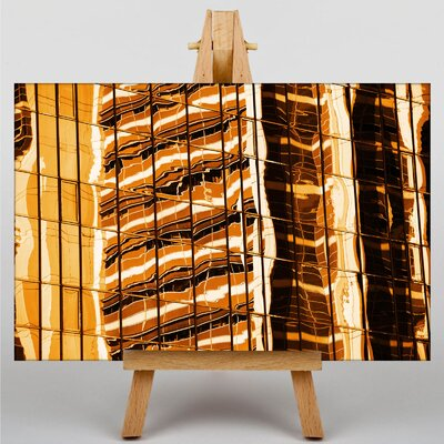Big Box Art Sunset Reflections Graphic Art Wrapped on Canvas