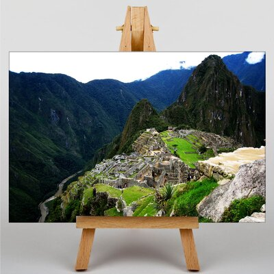 Big Box Art Machu Picchu Peru No.4 Photographic Print Wrapped on Canvas