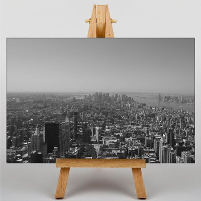 Big Box Art New York City Skyline USA No.7 Photographic Print Wrapped on Canvas