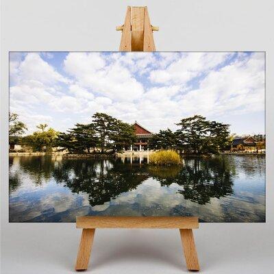 Big Box Art South Korea Tenple Photographic Print on Canvas