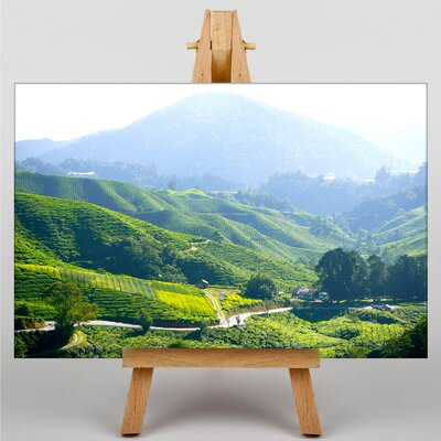 Big Box Art Tea Plantation Kuala Lumpur Malaysia Photographic Print on Canvas