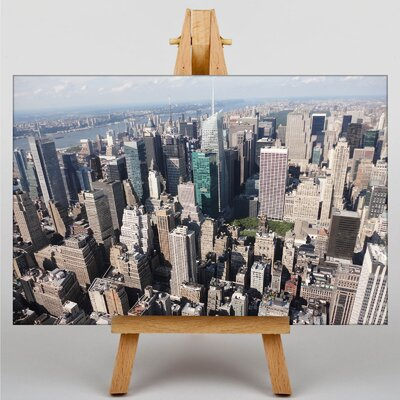 Big Box Art New York City Skyline USA No.15 Photographic Print Wrapped on Canvas