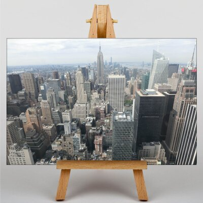 Big Box Art New York City Skyline USA No.1 Photographic Print Wrapped on Canvas