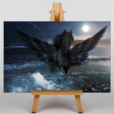 Big Box Art Pegasus Horse Graphic Art on Canvas