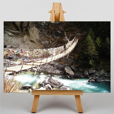 Big Box Art Mount Everest Mountain No.1 Photographic Print Wrapped on Canvas