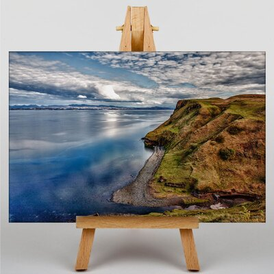 Big Box Art Scotland Landscape No.6 Photographic Print on Canvas