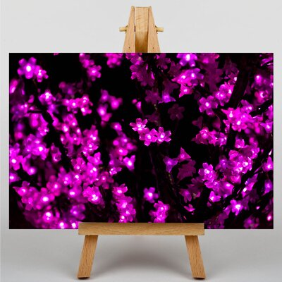 Big Box Art Blurred Fairy Lights Abstract No.9 Graphic Art on Canvas
