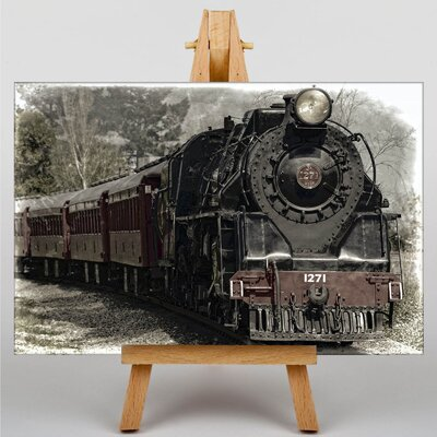 Big Box Art Train Locomotive No.3 Photographic Print on Canvas