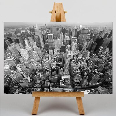 Big Box Art New York City Skyline USA No.3 Photographic Print on Canvas
