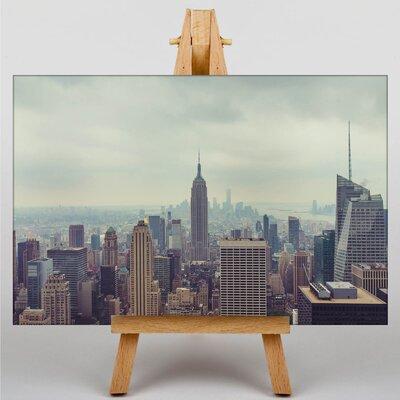 Big Box Art New York City Skyline USA No.18 Photographic Print on Canvas