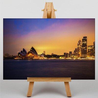 Big Box Art Sydney Opera House Harbour Australia No.9 Photographic Print on Canvas