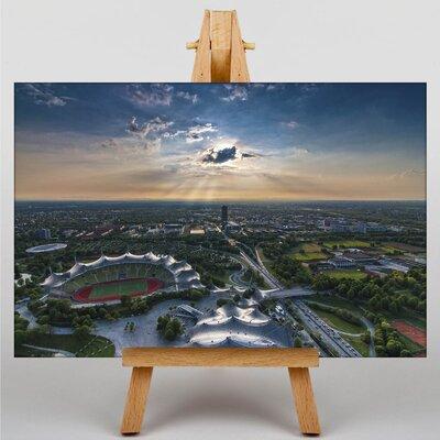 Big Box Art Munich Olympic Park Germany Photographic Print on Canvas