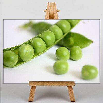 Big Box Art Pea Pods Photographic Print on Canvas
