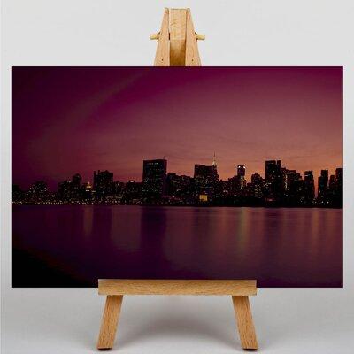 Big Box Art New York City Skyline USA No.23 Photographic Print Wrapped on Canvas