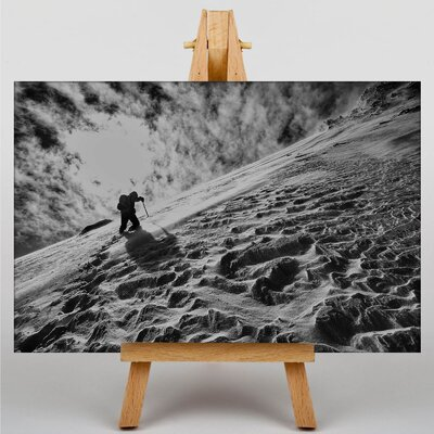 Big Box Art Mountain Climbing Photographic Print Wrapped on Canvas